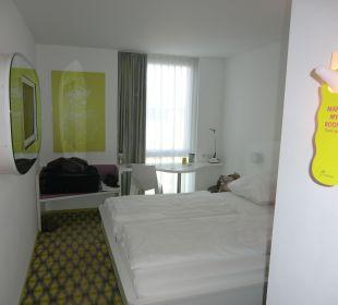 Unser Zimmer Nr. 510, 5. Etage prizeotel Bremen-City