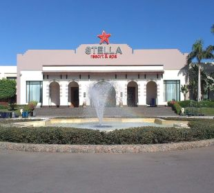 Eingang zur Rezeption Stella Di Mare Beach Resort & Spa Makadi Bay