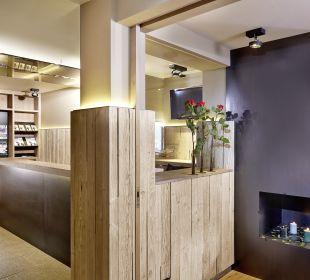 Bereich Empfang Bar Hotel Bergkranz
