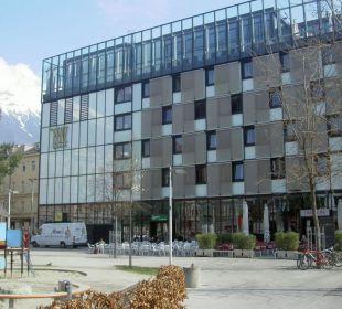 Seitenansicht Hotel The Penz