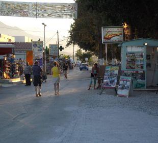 Einkaufsmeile Kavros Vantaris Beach Hotel
