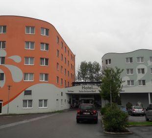 Außenansicht Hotel Sole-Felsen-Bad