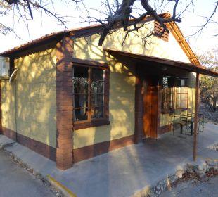 Außenansicht Etosha Safari Camp