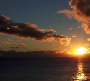 Sonnenuntergang vom Zimmer aus. Hotel XQ El Palacete
