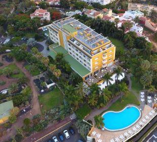 Mal von oben! Hotel Tigaiga