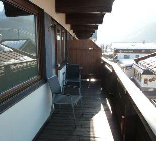 Balkon Erlebnishotel Tiroler Adler
