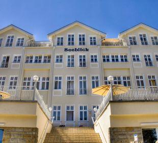Blick von der Promenade auf das Haus Seeblick Haus Seeblick Hotel Garni & Ferienwohnungen