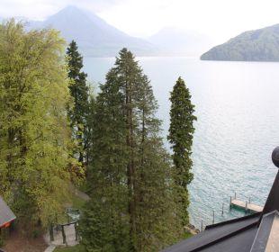 Blick auf Vierwaldstättersee Hotel Vitznauerhof