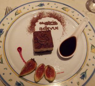Leckere Nachspeise Hotel Bellevue & Austria