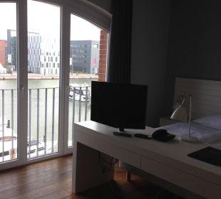 Zimmer mit Aussicht im-jaich boardinghouse bremerhaven