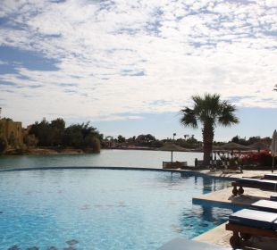 Blick vom Pool über die Lagune Arena Inn Hotel, El Gouna