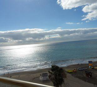 Blick vom Balkon zum Meer Hotel Atlantic Beach Club