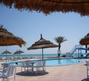 Pool mit Strandblick Hotel Sidi Slim