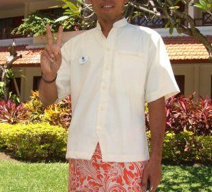 Angestellter Bali Rani Hotel