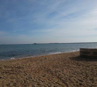 Strand bei folgender Ebbe