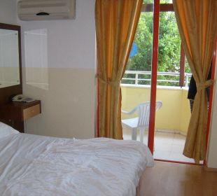Blick ins Zimmer Hotel Wassermann