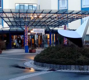 Eingang Hotel Meerane