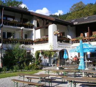 Hofansicht Forsthaus Graseck (Vorgänger-Hotel – existiert nicht mehr)
