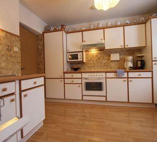 Überkomplett ausgestattete Küche Haus Gertraud