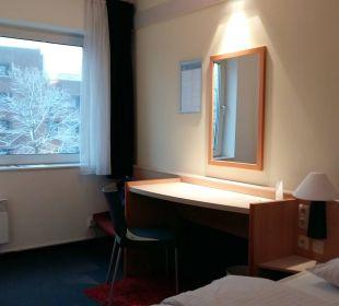 Doppelzimmer Hotel Zleep Hamburg City