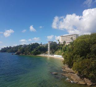 Hotelstrand mit Hotel  Grand Bahia Principe Cayacoa