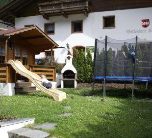 Grillhütte mit Kinderspielplatz Hotel Garni Krößbacherhof