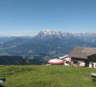 Ausblick Apartments Ferienparadies Alpenglühn
