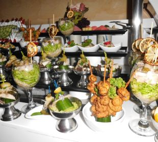 Vorspeisen Horus Paradise Luxury Resort Club