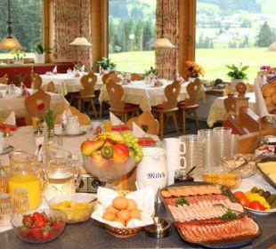 Frühstücksbuffet Gasthof Bergblick