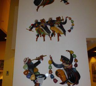 Farbenfrohe Deko Hotel Libertador Lago Titicaca