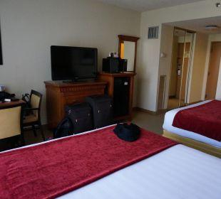 Aussicht vom Bett Best Western Hotel Bayside Inn