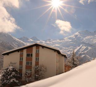Außenansicht Ferienwohnungen Apartments Azur