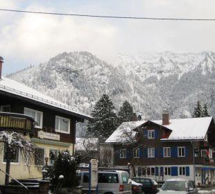 Hotel mit Blick auf die Berge Hotel Hirschbachwinkel