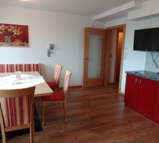 Großzügige Essecke Hotel Alpenroyal