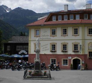 Ein beliebter Treffpunkt für Biker Hotelchen Döllacher Dorfwirtshaus
