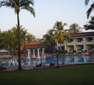 Optisch ein sehr schönes Resort Hotel Holiday Inn Resort Goa