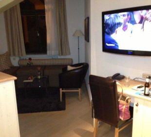 Sitzecke im Gmachl im Turm Hotel Staudacherhof