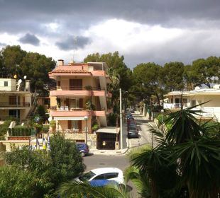 Widok z balkonu Hotel Palma Playa - Cactus