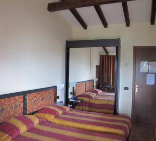 Alte Ausstattung Hotel Cristina