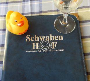 Sehr zu empfehlen - Speis und Trank im Schwabenhof Gasthof Schwabenhof
