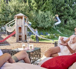 Spielplatz Lounge Familotel Amiamo