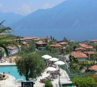 Vom Balkon Limone/Gardasee u. Monte Baldo Hotel Cristina