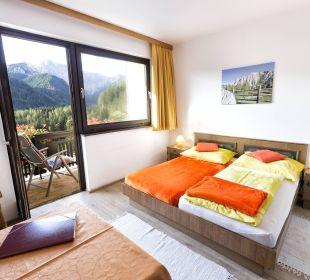 DZ zur Einzelnutzung mit Balkon und Bergblick BergPension Lausegger