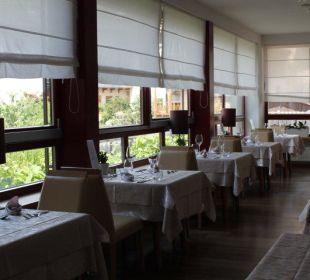 Moderner Bereich im Restaurant Hotel Taubers Unterwirt