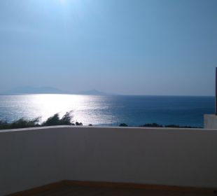 Blick vom Balkon Hotel Lagas Aegean Village