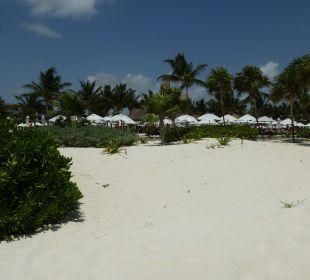 Foto vom Strand zum Pool Secrets Maroma Beach Riviera Cancun