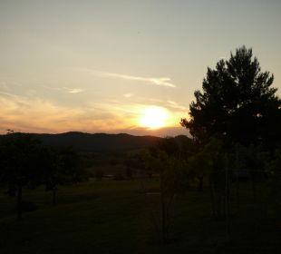Sonnenuntergang Casa Montecucco