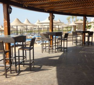 Bar na plaży Melia Sharm Resort & Spa