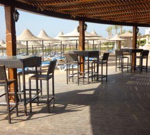 Bar na plaży Melia Sharm Resort & Spa