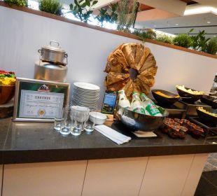 Frühstücksbuffet im Johann Grill Kempinski Hotel Berchtesgaden
